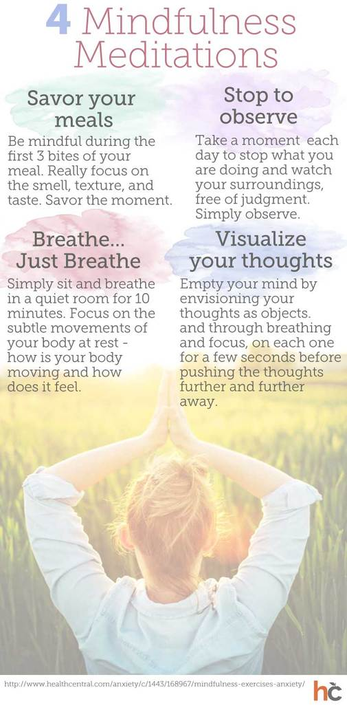 4 Easy Mindfulness Meditations | Vantage Point Recovery