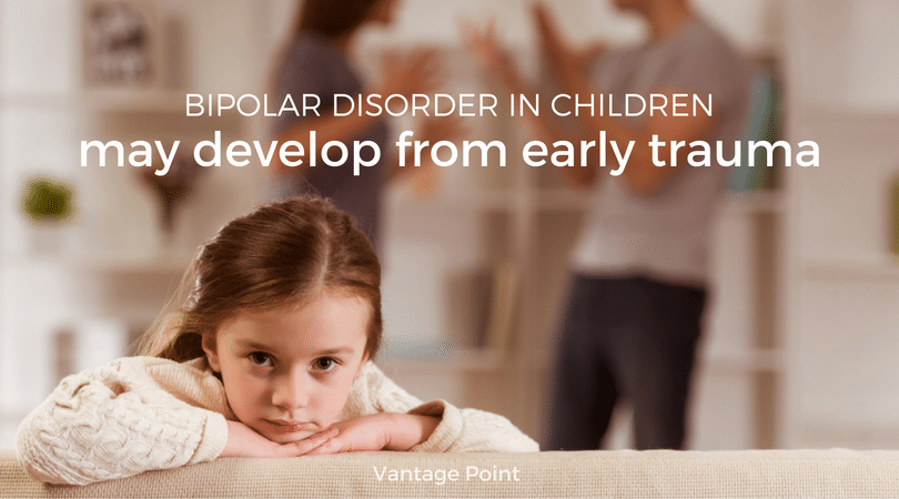 Bipolar Disorder In Children May Develop From Early Trauma